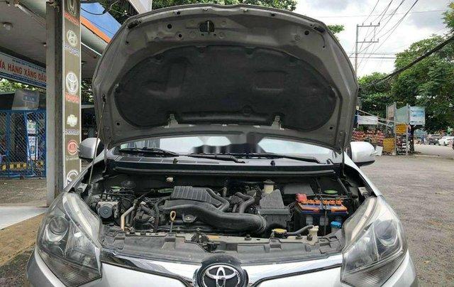 Bán xe Toyota Wigo đời 2018, màu bạc, nhập khẩu số sàn8