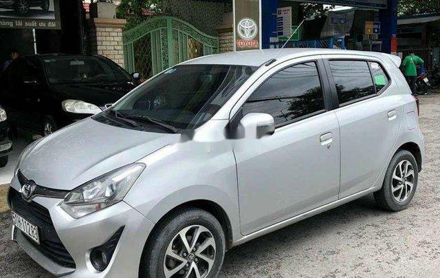 Bán xe Toyota Wigo đời 2018, màu bạc, nhập khẩu số sàn1