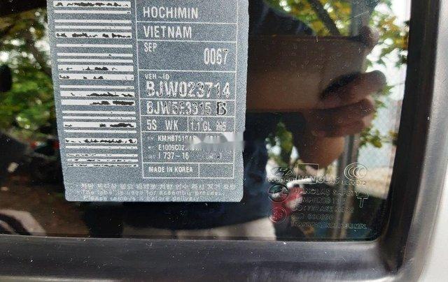Cần bán lại xe Hyundai Getz đời 2010, màu bạc, xe nhập 3