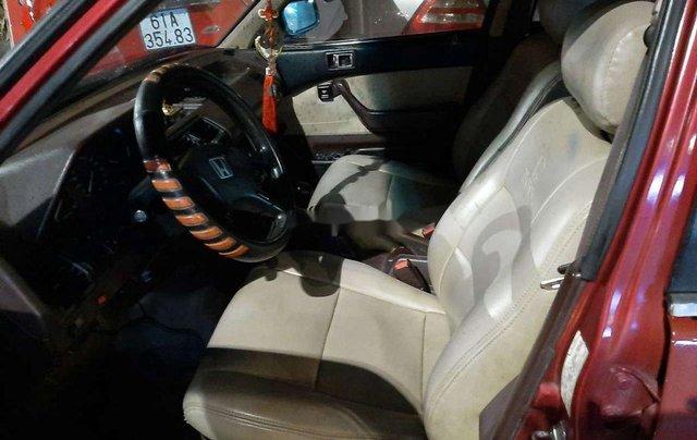 Bán Honda Accord đời 1987, màu đỏ, nhập khẩu, máy chất5