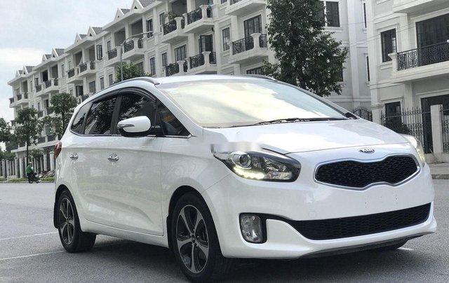 Bán lại xe Kia Rondo đời 2016, màu trắng, máy dầu2