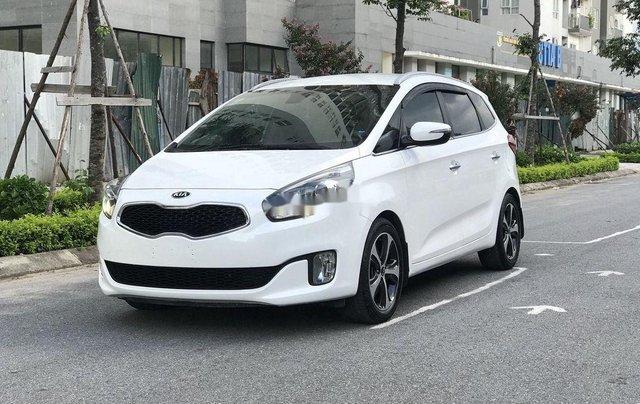 Bán lại xe Kia Rondo đời 2016, màu trắng, máy dầu1