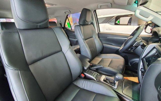Toyota Fortuner 2.4AT model 2021, đây là Toyota Hiroshima Tân Cảng phân phối, chính thức, mới 100%, đại lý gốc8