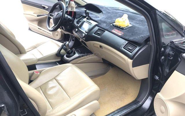Honda Civic 1.8MT năm sản xuất cuối 2009, màu đen6