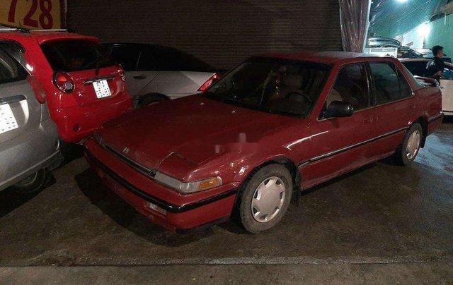 Bán Honda Accord đời 1987, màu đỏ, nhập khẩu, máy chất1