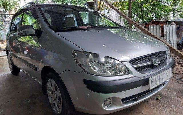 Cần bán lại xe Hyundai Getz đời 2010, màu bạc, xe nhập 0