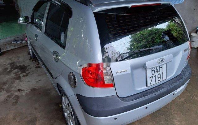 Cần bán lại xe Hyundai Getz đời 2010, màu bạc, xe nhập 1