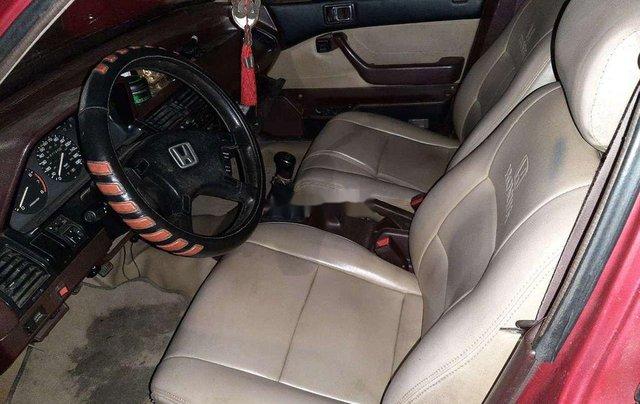 Bán Honda Accord đời 1987, màu đỏ, nhập khẩu, máy chất4