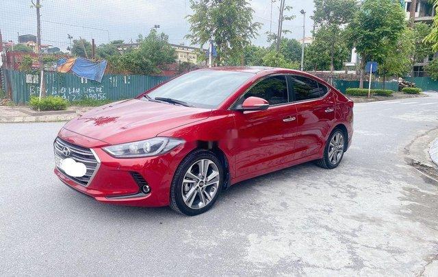 Bán Hyundai Elantra năm sản xuất 2018, màu đỏ, xe nhập 2