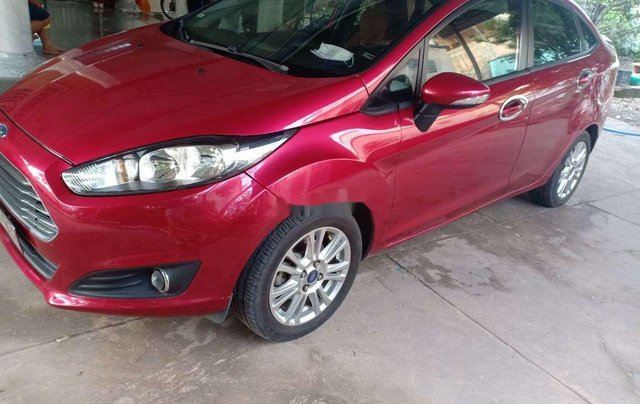 Bán xe Ford Fiesta đời 2015, màu đỏ, nhập khẩu nguyên chiếc giá cạnh tranh0