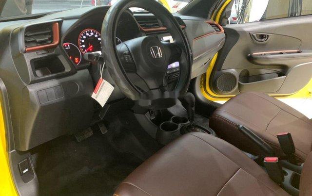 Bán Honda Brio RS 2020, màu vàng, nhập khẩu11