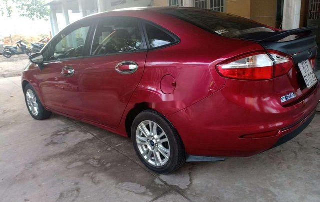 Bán xe Ford Fiesta đời 2015, màu đỏ, nhập khẩu nguyên chiếc giá cạnh tranh4