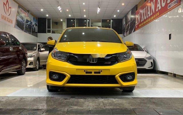 Bán Honda Brio RS 2020, màu vàng, nhập khẩu0