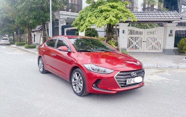Bán Hyundai Elantra năm sản xuất 2018, màu đỏ, xe nhập 1