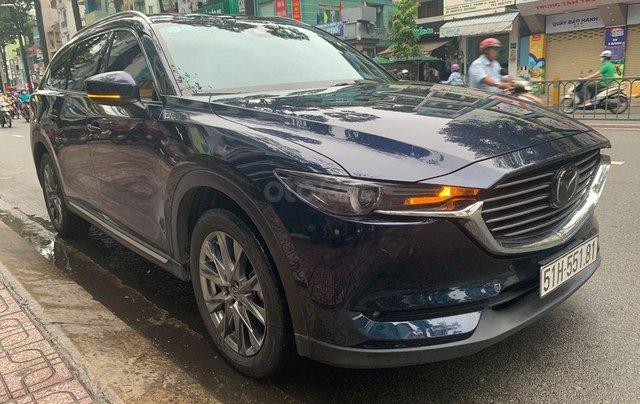 Cần bán Mazda CX-8 2.5 Premium SX 2019, xanh lam1