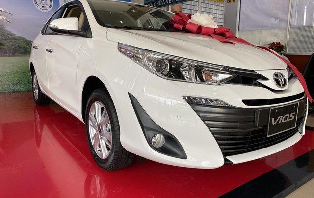 Toyota Vios 1.5G CVT giá tốt, khuyến mãi hấp dẫn, đủ màu giao ngay, hỗ trợ tài chính 85%/8 năm1