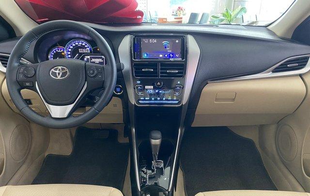 Toyota Vios 1.5G CVT giá tốt, khuyến mãi hấp dẫn, đủ màu giao ngay, hỗ trợ tài chính 85%/8 năm4