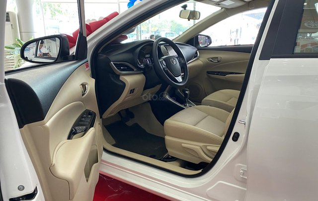 Toyota Vios 1.5G CVT giá tốt, khuyến mãi hấp dẫn, đủ màu giao ngay, hỗ trợ tài chính 85%/8 năm7