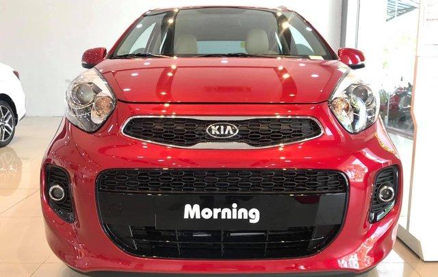 Bán xe Kia Morning Luxury sx 2020 màu đỏ, giá hợp lý4
