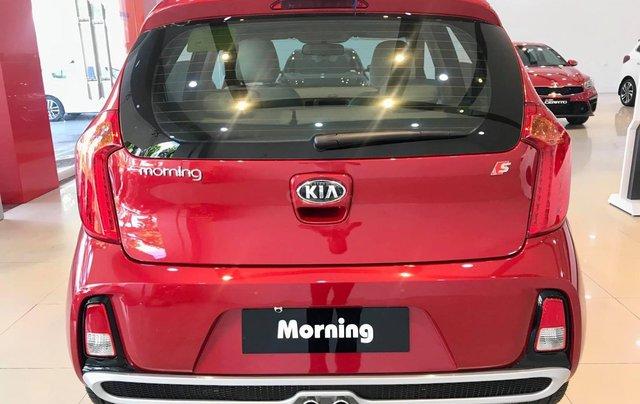 Bán xe Kia Morning Luxury sx 2020 màu đỏ, giá hợp lý2