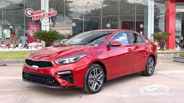 Kia Cerato 1.6 Luxury 2020 đỏ - 1 tháng cuối cùng để hưởng ưu đãi thuế trước bạ 50%, trả góp 85%, nhận xe chỉ với 150tr3