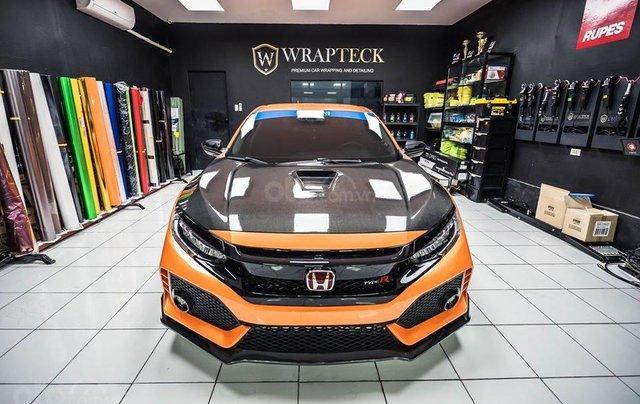 Cần bán xe Honda Civic Type R đời 2020, màu cam2