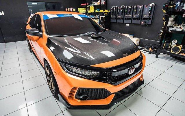 Cần bán xe Honda Civic Type R đời 2020, màu cam0