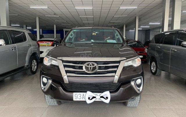 Bán xe Toyota Fortuner 2.4G 4x2 AT 2019, màu nâu0