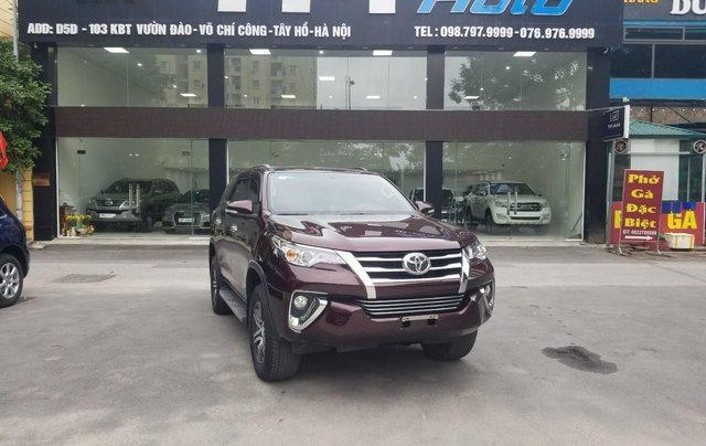 Bán Toyota Fortuner, máy xăng, một cầu, xe nhập khẩu, sản xuất 20170