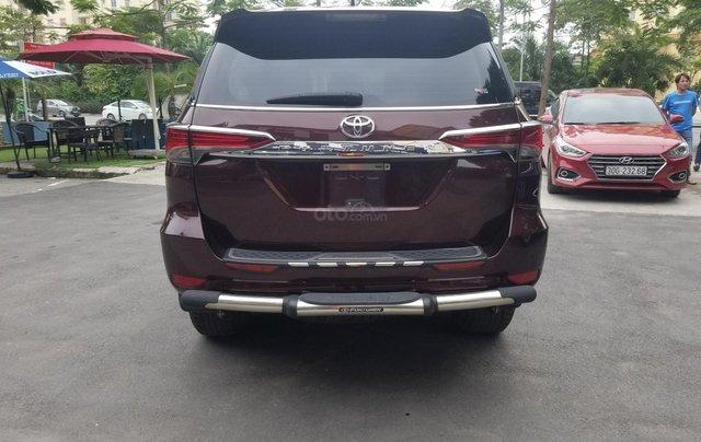 Bán Toyota Fortuner, máy xăng, một cầu, xe nhập khẩu, sản xuất 20172