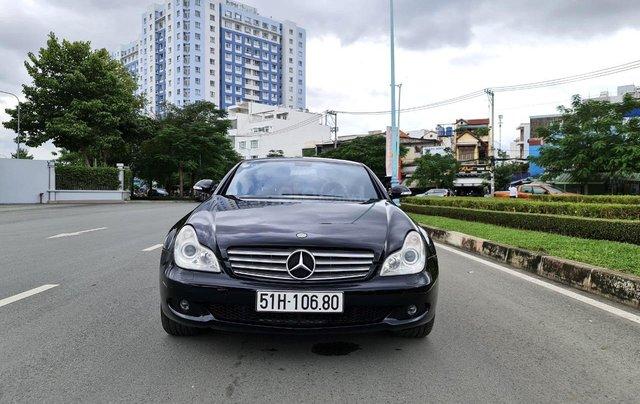 Mercedes CLS 500 nhập Đức 2007, màu đen2
