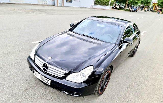 Mercedes CLS 500 nhập Đức 2007, màu đen3