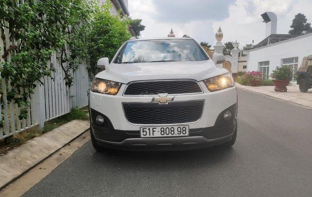 Chevrolet Captiva 2.4LTZ 2015, đi 95.000km, bảo hành 10.000km0
