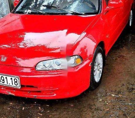 Bán Honda Civic sản xuất năm 1995, màu đỏ, xe nhập2