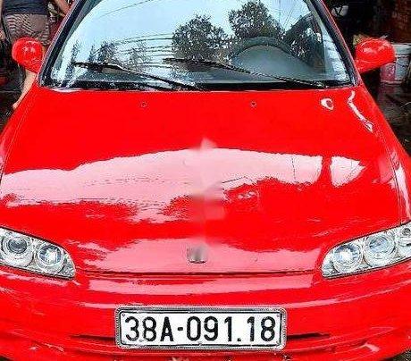 Bán Honda Civic sản xuất năm 1995, màu đỏ, xe nhập0