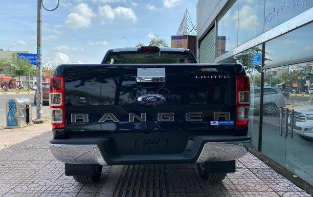 Bán xe Ford Ranger Limited New 2021, màu xanh Crystal Blue, xe nhập3