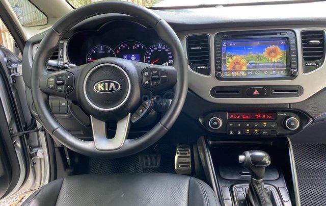 Cần bán xe Kia Rondo SX 2016, màu bạc, nội thất đen, máy dầu4