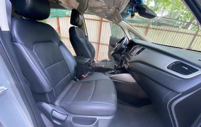 Cần bán xe Kia Rondo SX 2016, màu bạc, nội thất đen, máy dầu6
