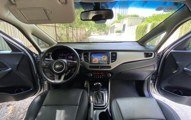 Cần bán xe Kia Rondo SX 2016, màu bạc, nội thất đen, máy dầu5