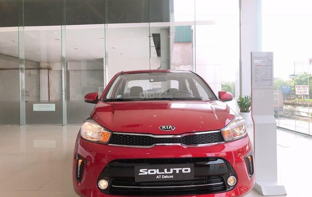 Kia Soluto SX 2020 - ưu đãi tốt nhất năm- nhận xe ngay chỉ từ 120 triệu - hỗ trợ trả góp đến 80% - giảm 50% thuế TB2