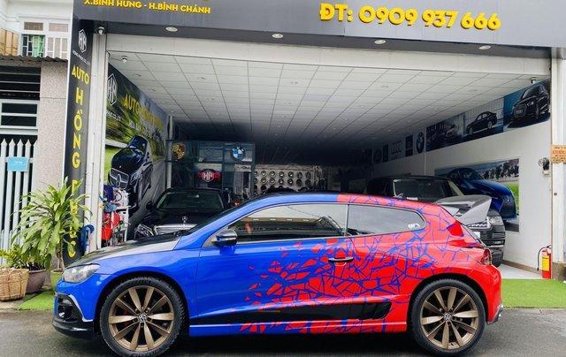 Cần bán lại xe Volkswagen Scirocco model 2010, màu xanh lam, xe gia đình giá tốt 429 triệu đồng1
