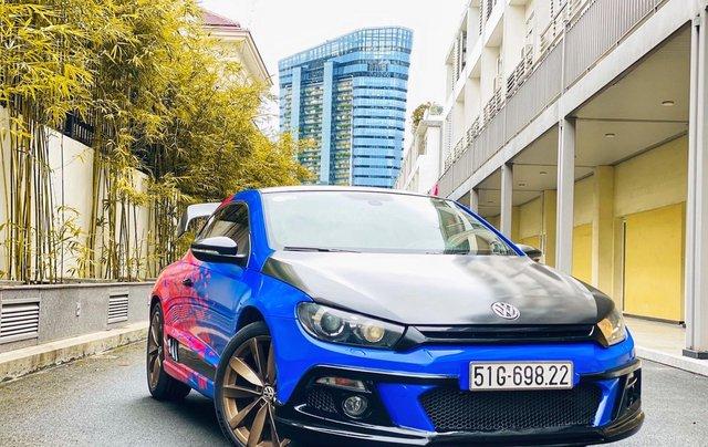 Cần bán lại xe Volkswagen Scirocco model 2010, màu xanh lam, xe gia đình giá tốt 429 triệu đồng6