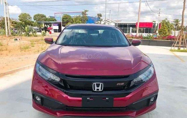 Cần bán xe Honda Civic RS 1.5 AT 2020, màu đỏ0