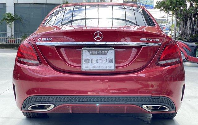 Bán xe Mercedes Benz C300 2.0 AT 2017 xe màu đỏ, thương hiệu đẳng cấp thế giới3