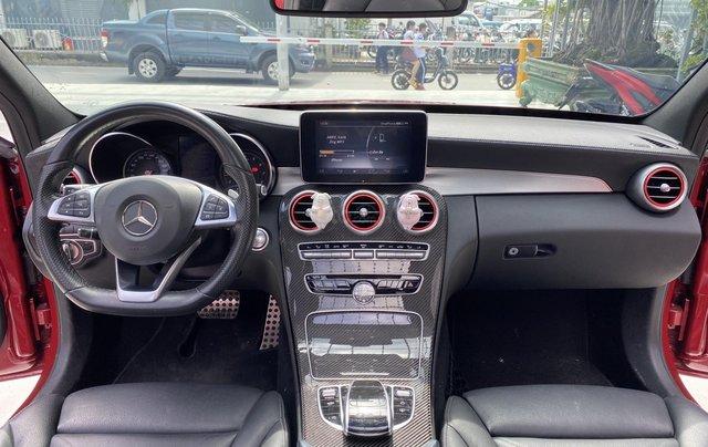 Bán xe Mercedes Benz C300 2.0 AT 2017 xe màu đỏ, thương hiệu đẳng cấp thế giới7