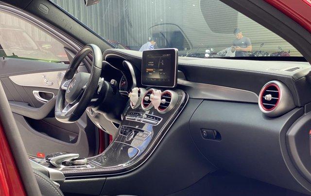 Bán xe Mercedes Benz C300 2.0 AT 2017 xe màu đỏ, thương hiệu đẳng cấp thế giới9
