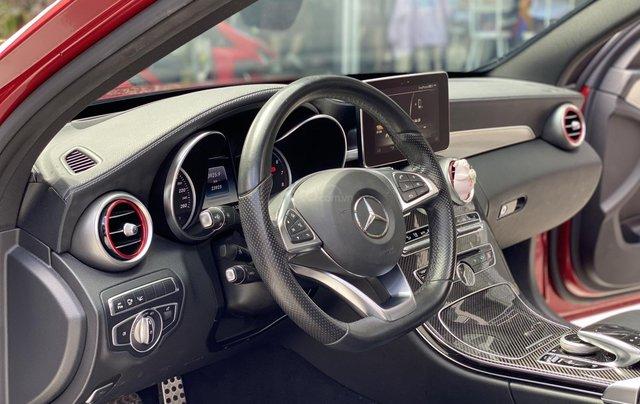 Bán xe Mercedes Benz C300 2.0 AT 2017 xe màu đỏ, thương hiệu đẳng cấp thế giới8