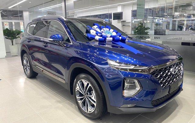 Hyundai Santafe - chương trình khuyến mãi lớn nhất năm. Giảm giá trực tiếp 33 triệu - tặng phụ kiện siêu ưu đãi1