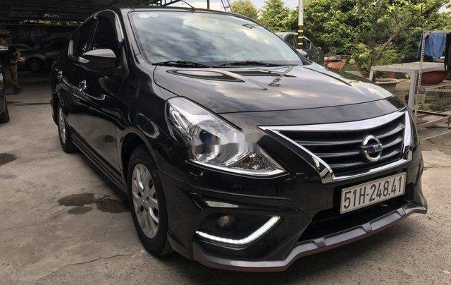 Bán ô tô Nissan Sunny năm 2019, màu đen như mới, giá 445tr1