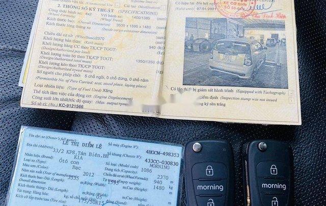Bán Kia Morning năm sản xuất 2012, giá tốt, chính chủ sử dụng, còn mới11